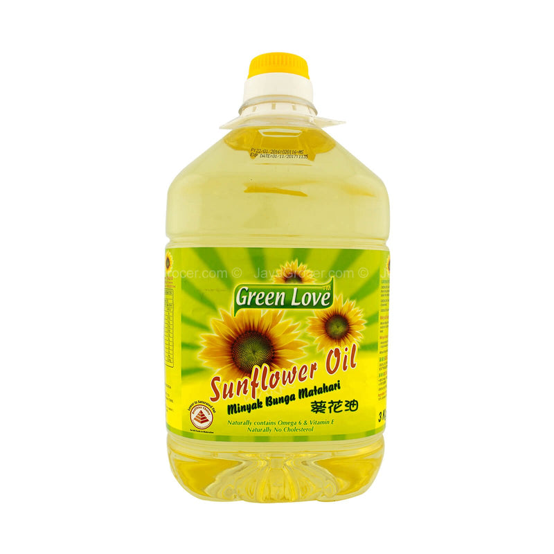 Green Love Sunflower Cooking Oil 3kg