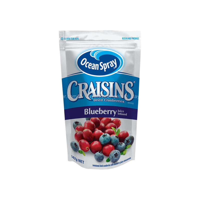 Ocean Spray Craisins Dried Cranberries with Blueberry Juice Infused 142g