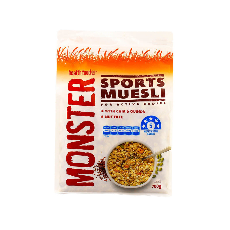Monster Sports Muesli Cereal 700g