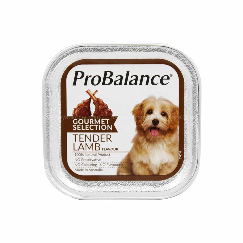 Pro Balance Gourmet Selection Tender Lamb Dog Wet Food 100g