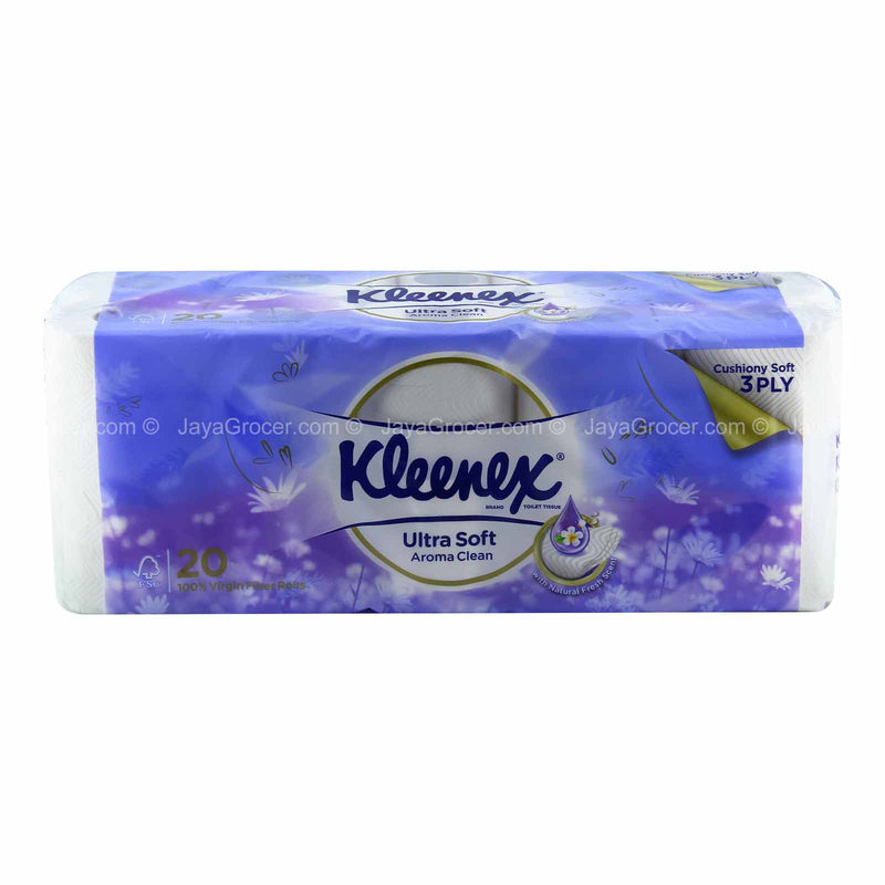 Kleenex Ultra Soft Scented Toilet Tissue 20rolls