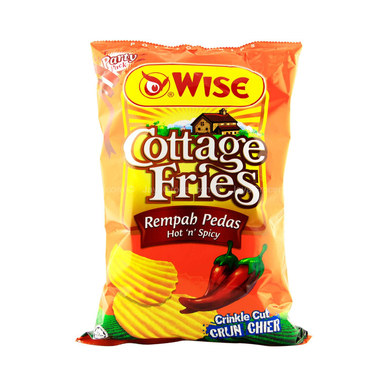 Wise Cottage Fries Hot and Spicy Potato Chips 160g