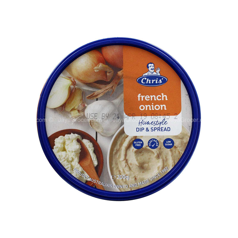 Chris' French Onion Dip & Spread 200g