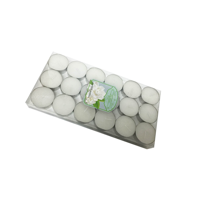 Tealight Candle Jasmine Scent 36pcs