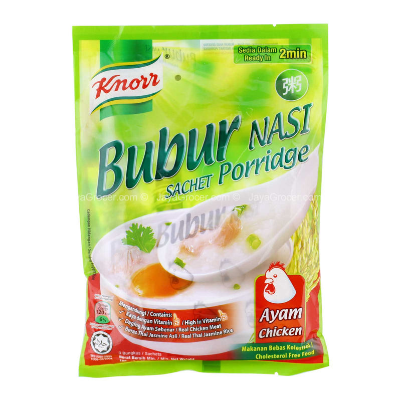 Knorr Sachet Chicken Porridge 105g