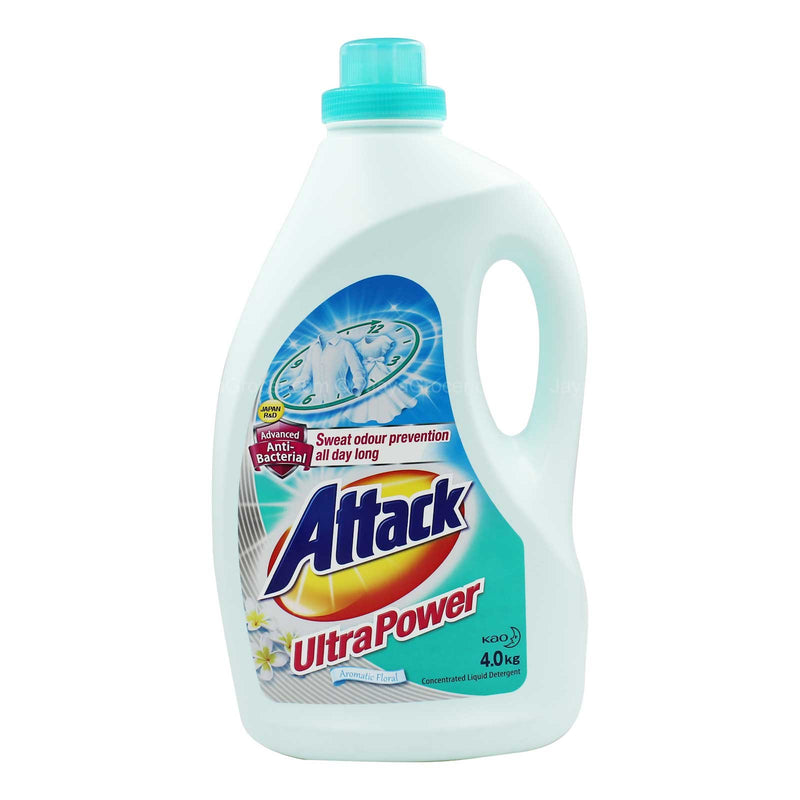 Attack Ultra Power Detergent Liquid 4kg