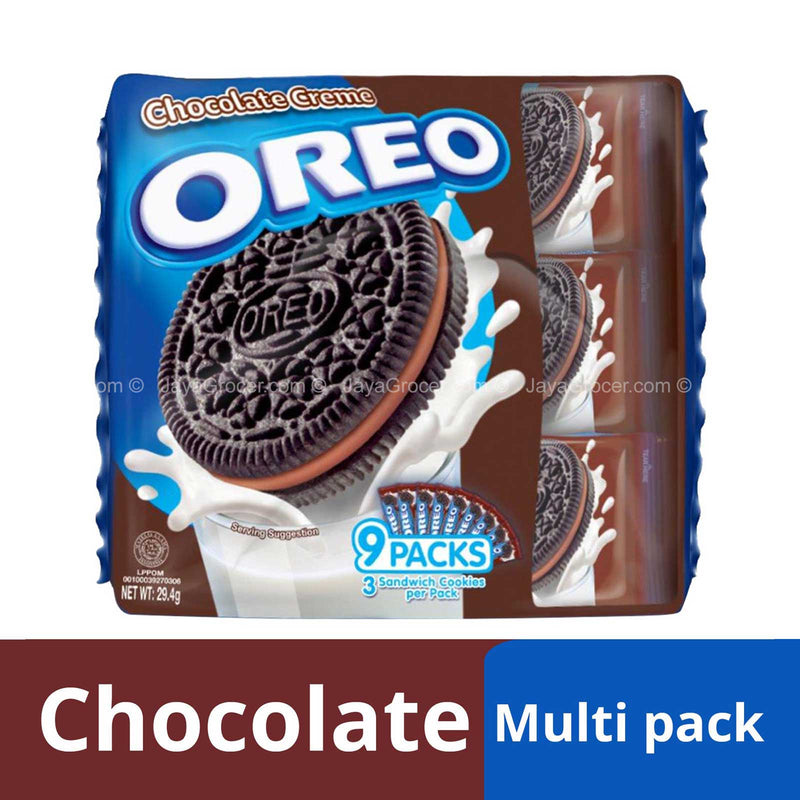 Oreo Chocolate Creme Sandwich Cookies 29.4g x 9