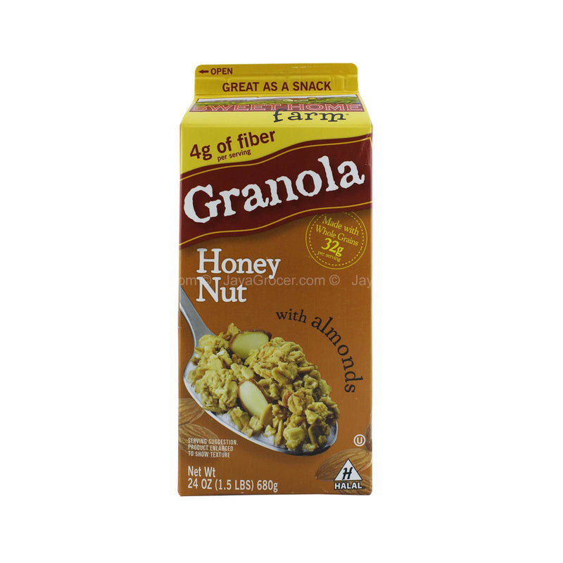 Sweethome Farm Honey Nut with Almonds Granola 680g