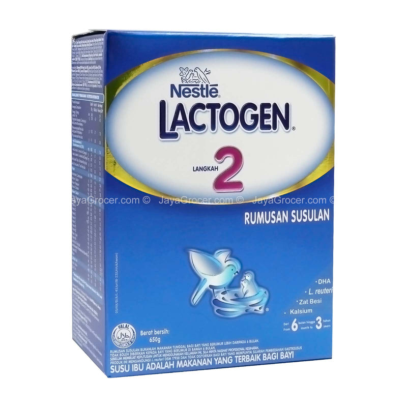 Nestle Lactogen Step 2 650g