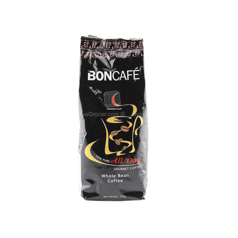 Boncafe All Day Whole Bean Gourmet Coffee 200g