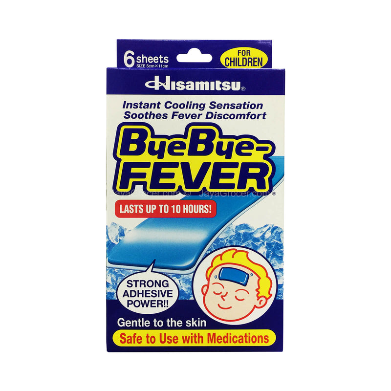 Hisamitsu Bye-Bye Fever for Children 1pack