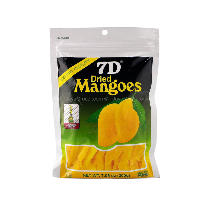 7D Dried Mangoes 200g