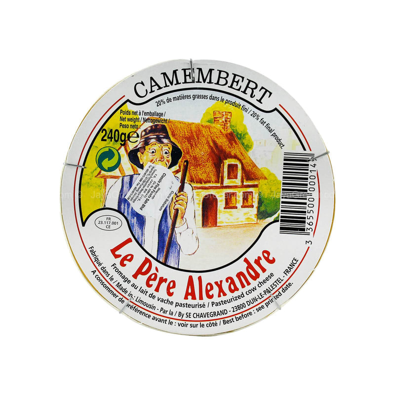 Le Pere Alexandre Camembert Cheese 240g