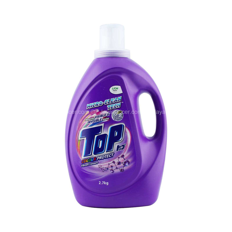 Top Colour Protect Vibrant Colours Liquid Detergent 2.7kg