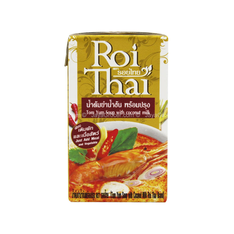 Roi Thai Tom Yum Soup with Coconut Milk 250ml