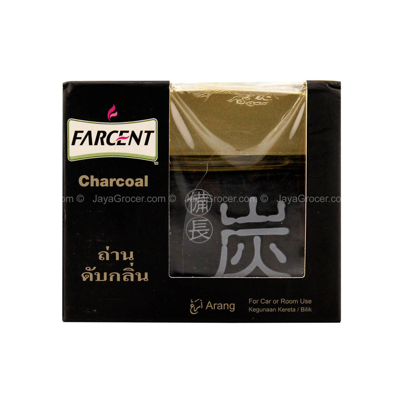 Farcent Charcoal Gel Car Fragrance 120g