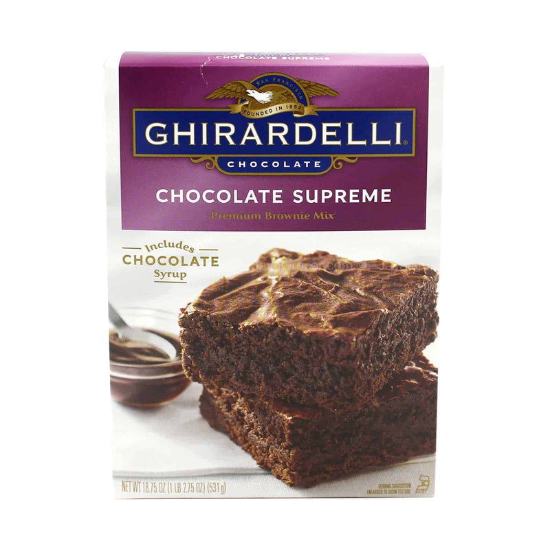 Ghirardelli Chocolate Supreme Premium Brownie Mix 531g