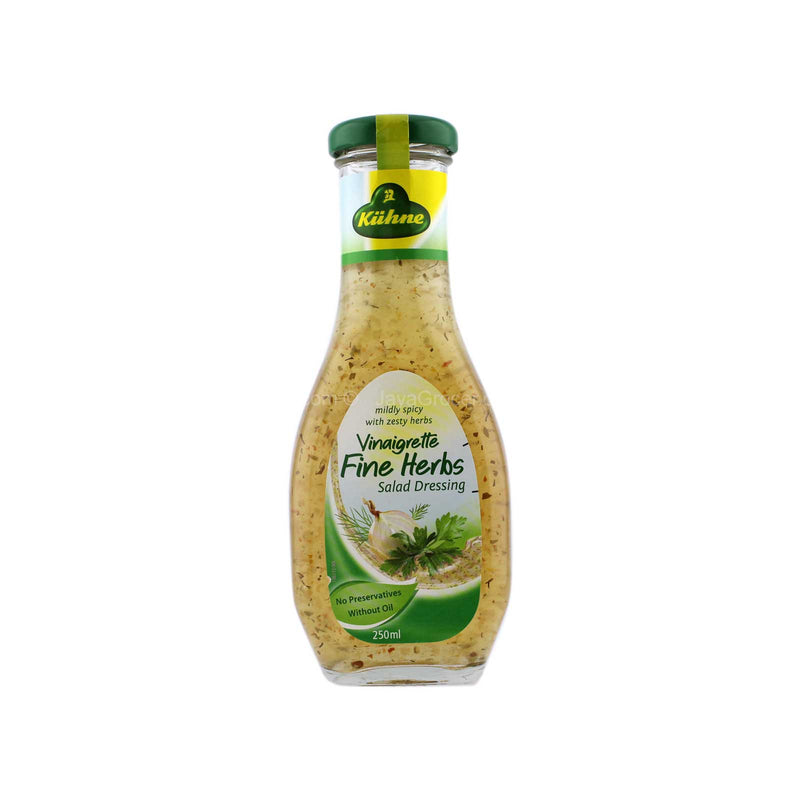 Kuhne Vinaigrette Fine Herbs Salad Dressing 250ml