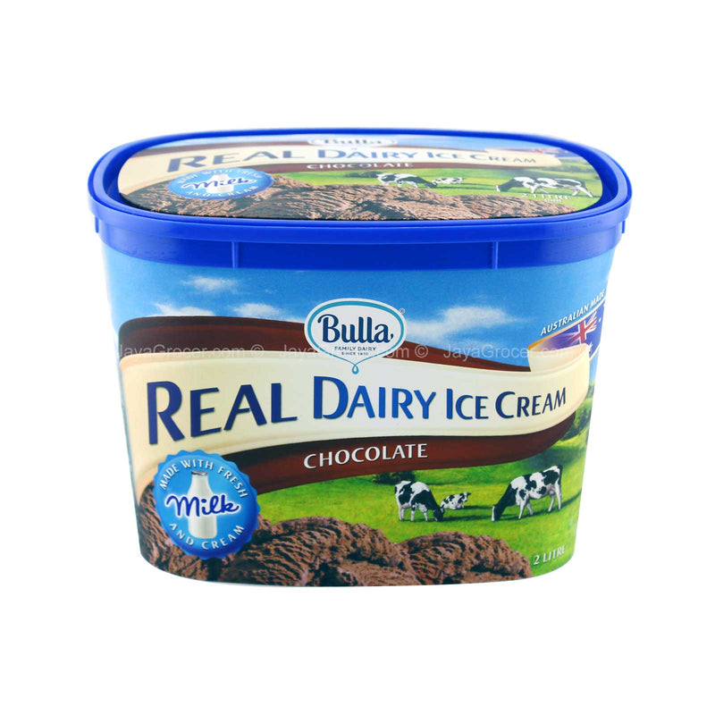 Bulla Real Dairy Chocolate Ice Cream 2L