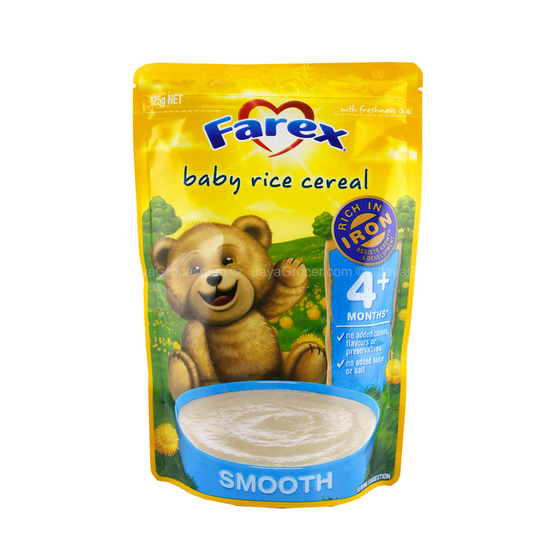 Farex Baby Rice Cereal Smooth (4 months++) 125g
