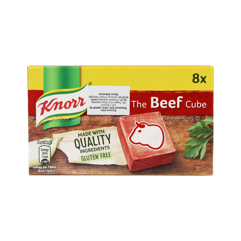 Knorr The Beef Stock Cubes 80g