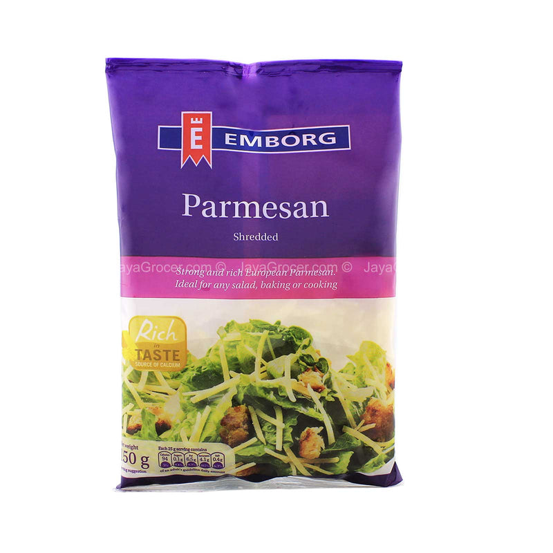 Emborg Shredded Parmesan Cheese 150g