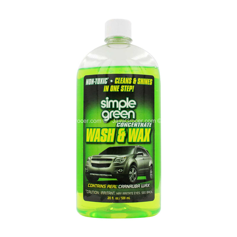 Simple Green Wash and Wax Concentrate 591ml
