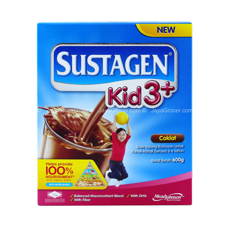 Sustagen Chocolate Kid 3+ Milk Powder 600g