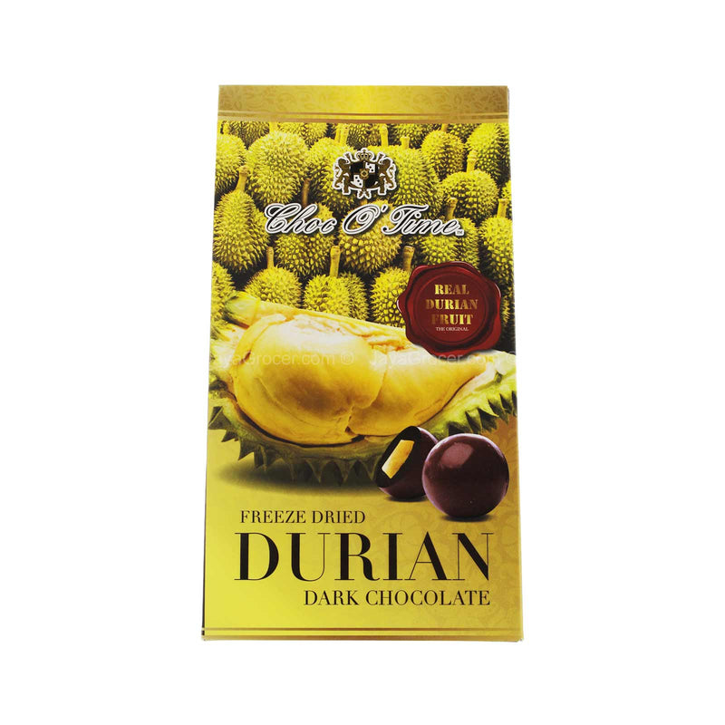 Choc O Time Freeze Dried Durian Dark Chocolate 120g