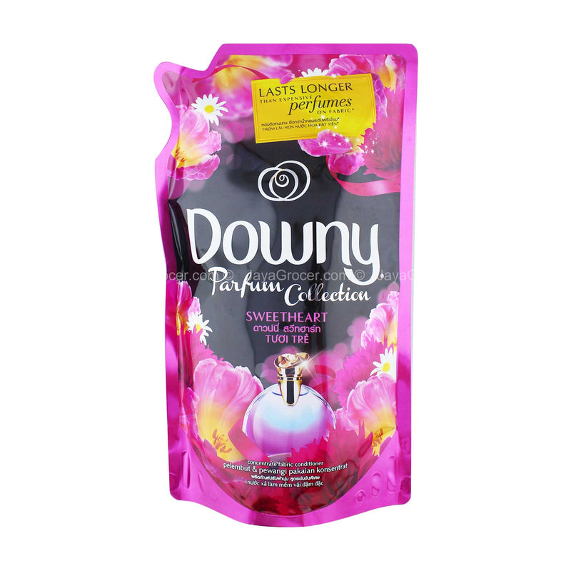 Downy Parfum Collection Sweetheart Concentrate Fabric Conditioner Refill 1.5L