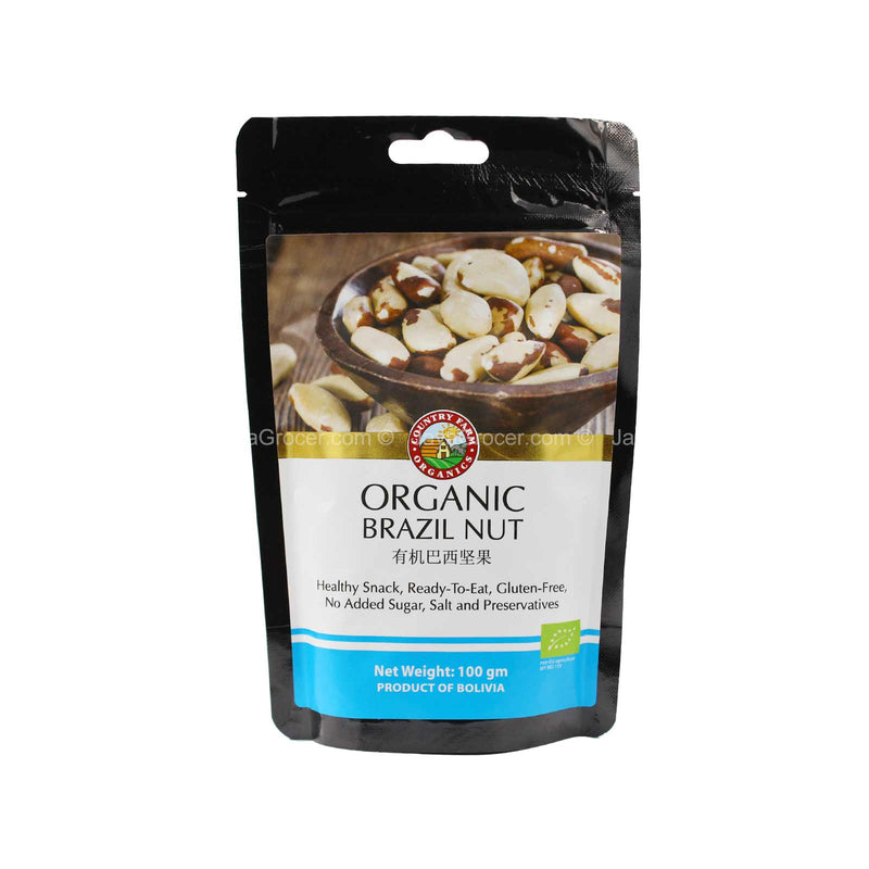 Country Farm Organic Brazil Nut 100g