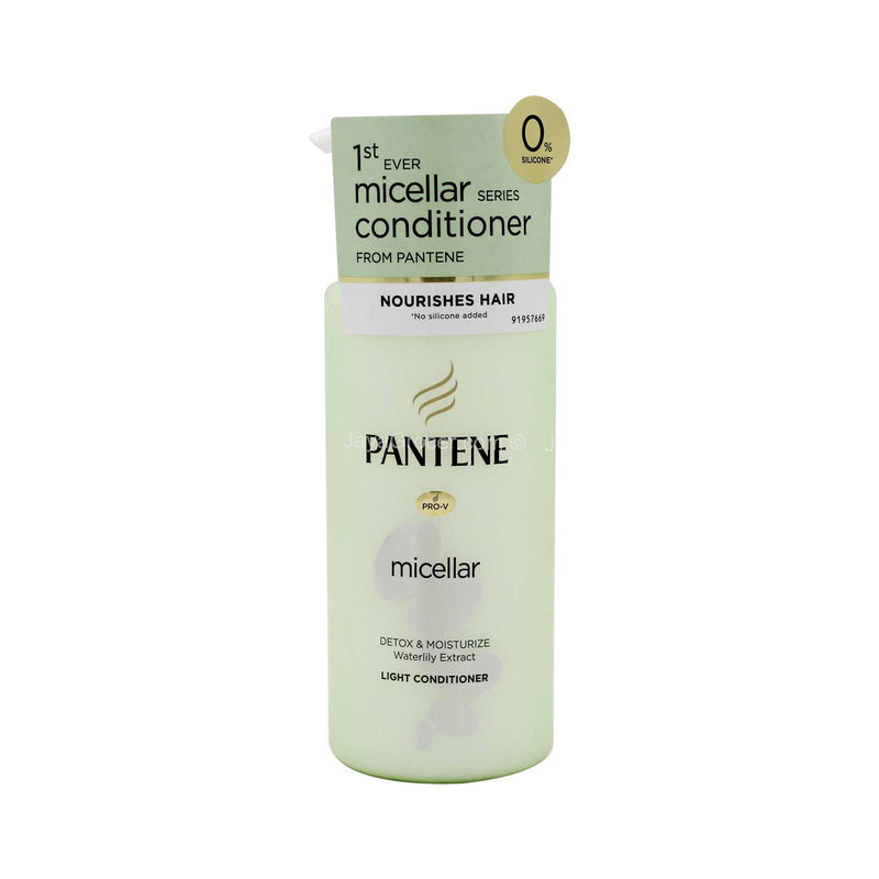 Pantene Micellar Detox & Moisturize Waterlily Extract Light Conditioner 300ml