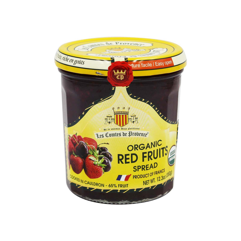 Les Comtes de Provence Organic Red Fruits Spread 350g