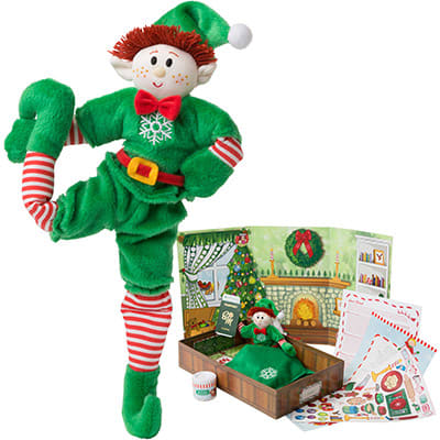 Boy Elf (Red Hair) & Elf Book Set