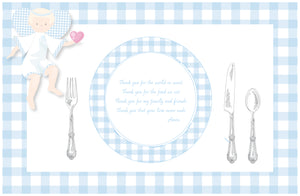 Guardian Angel Placemat - Boy