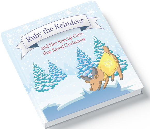 Ruby The Reindeer Board Book