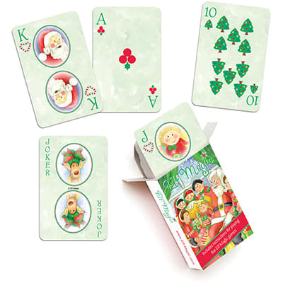 Pick An Elf - Playing Cards
