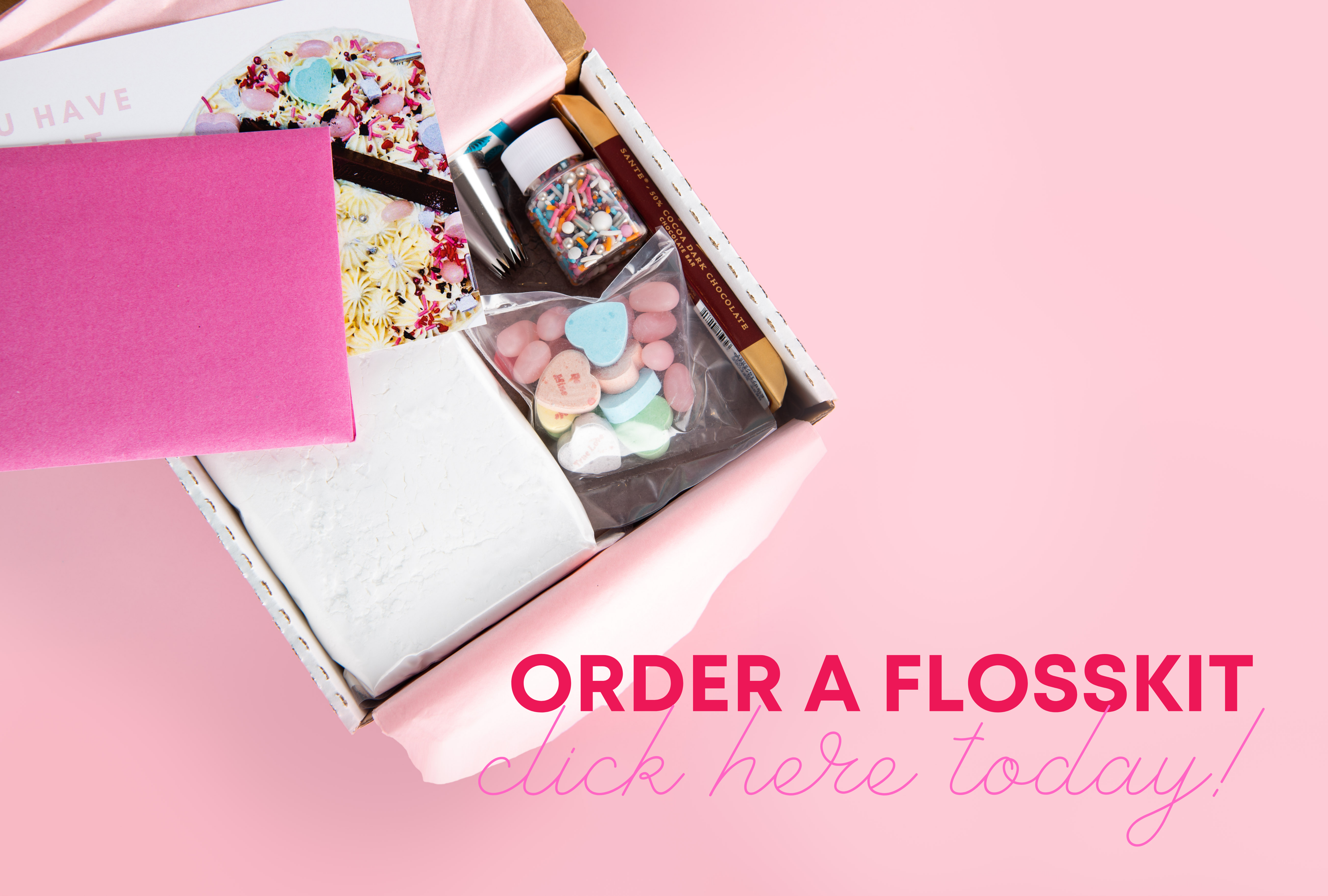 Flosskit - create your own cake