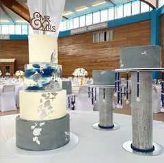 wedding cakes by floss cakery