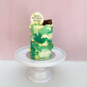 Mini Floss Tube Cake