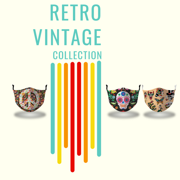 Masx Retro Vintage Face Masks Collection