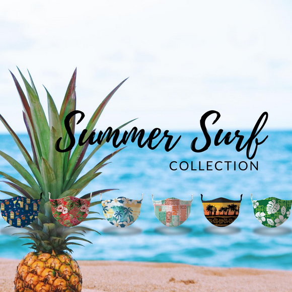 Summer Surf Face Mask Collection