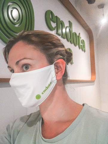 Custom branded and personalised Endota Face Mask by Masx