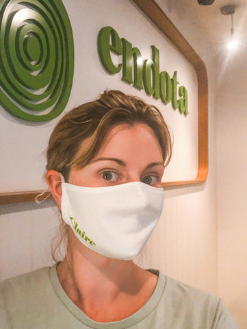 Custom Branded and Personalised Face Masks for Endota Spa