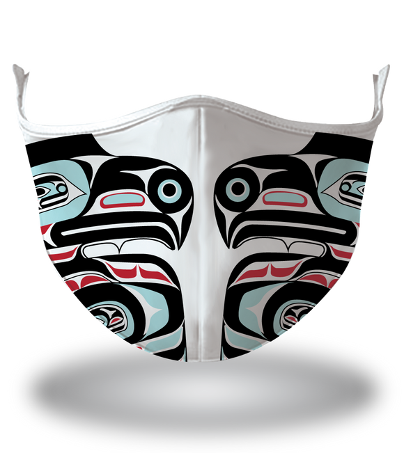 Masx Haida Art Eagle Reusable Face Mask