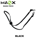 Masx Face Mask Accessories - Black Lanyard