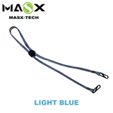 Masx Face Mask Accessories - Light Blue Lanyard