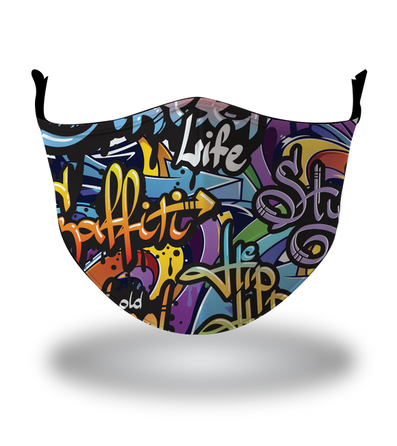 Masx Graffiti Reusable Face Mask
