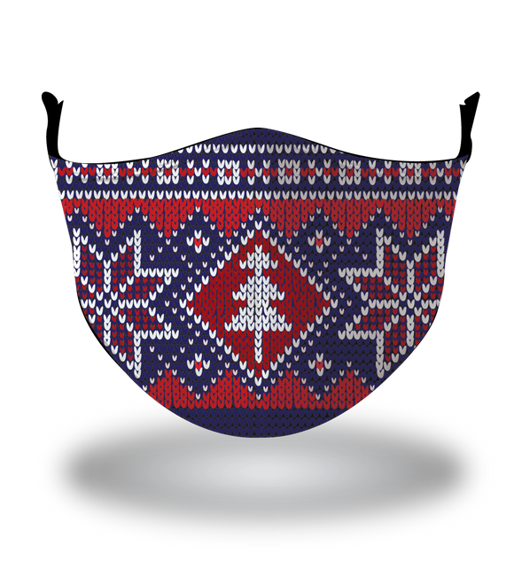 Masx Nordic Winter Christmas Reusable Face Mask - Christmas Collection