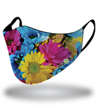Masx Sunny Flowers Reusable Face Mask
